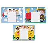 Hoffmaster 702085 Kids' Menu Multipack Placemats, 3 Designs per Case, 8-1/2 x 11-5/8, Printed (Pack of 1000)