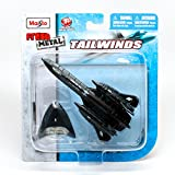 f series helicopter parts - Lockheed SR-71 Blackbird Long-Range Reconnaissance Aircraft Tailwinds 2011 Maisto Fresh Metal Series Die-Cast Airplane Collection