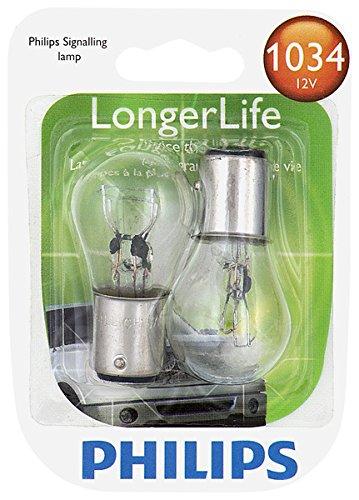 2 Pack 1034LLB2 Philips 1034 LongerLife Miniature Bulb