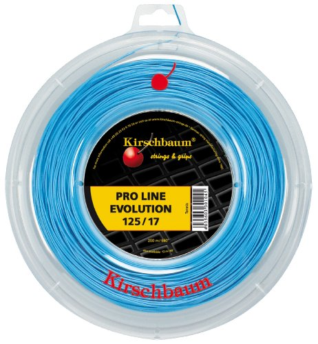 Kirschbaum Reel Pro Line Evolution Tennis String, 1.25mm/17-Gauge, Blue
