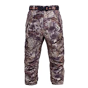 Grundens Gage Waterproof Weather Watch Pants, Kryptek Highlander Camo, 5XL