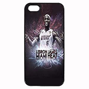 LeBron James Custom Image Case iphone 4 case , iphone 4S case, Diy Durable Hard Case Cover for iPhone 4 4S , High Quality Plastic Case By Argelis-sky, Black Case New