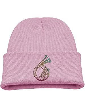 colorful French Horns Baby's Beanie Cute Hats