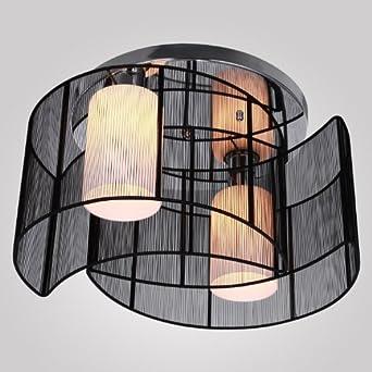 ALFRED® Deckenleuchte Modernes Design Schlafzimmer 2 Leuchten Schwarz, Mini  Style Kronleuchter Moderne Leuchte Decke