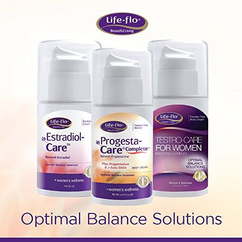 Life-Flo Complete Progesterone 7-Keto | Physician-Developed Cream for Optimal | Pump