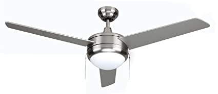 Royal Pacific Lighting 1079LED BN Modern Contempo 3 Blade Modern Ceiling  Fan With Integrated LED