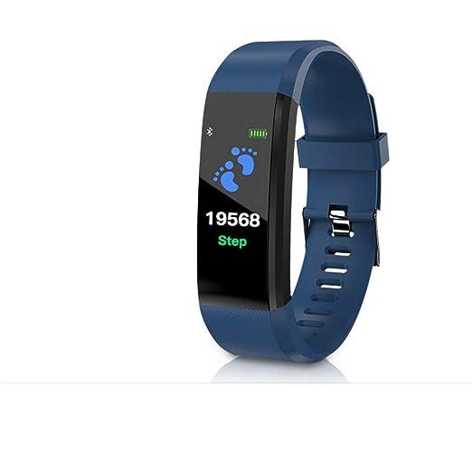 Hombre Inteligente Electrónico Watch,Unisex Alta tecnología Reloj Despertador Múltiples Funciones Impermeable Watch-B: Amazon.es: Relojes
