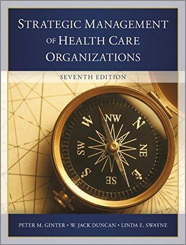 Strategic Managemt.Of Health Care Org.