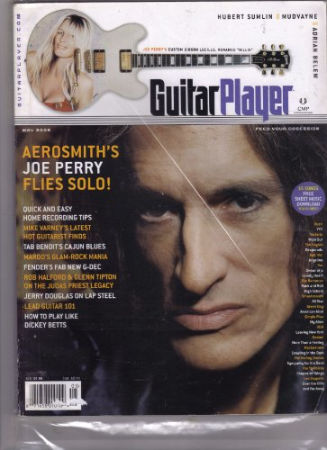 Guitar Player Magazine May 2005 (Aerosmith's joe perry flies solo! quick and easy home recording tips) (Rolling Stones Sympathy For The Devil Tab)