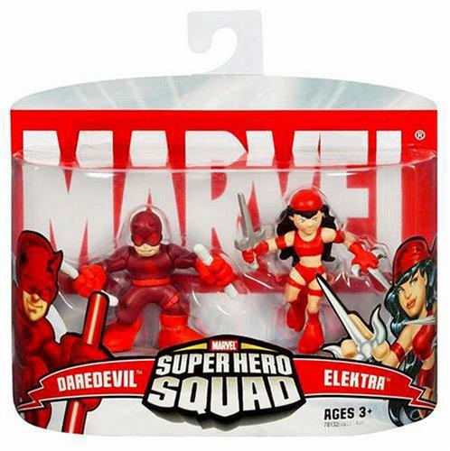 Marvel Super Hero Squad Daredevil and Elektra