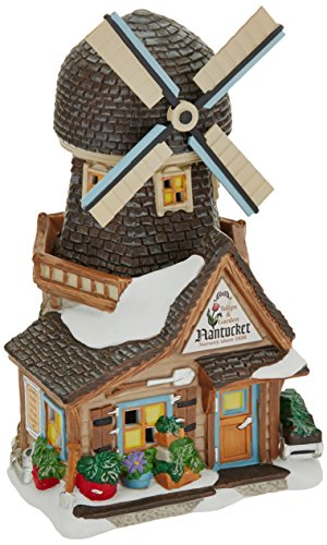Department 56 New England Village Nantucket Tulips and Garden Lit House