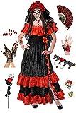 Dia de los Muertos Day of the Dead Plus Size Halloween Costume