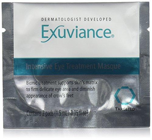 Exuviance Intensive Eye Treatment Pads, 0.6 Fluid Ounce Treatment Eye Mask 12 Pads