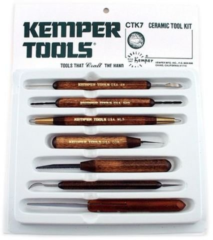 Kemper Ceramic Tool Kit 1 pcs sku# 1841748MA (Tools Kemper Ceramic)