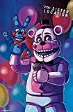 "Trends International Five Nights at Freddy's  Sister Location Funtime Freddy, 22.375"" x 34"""