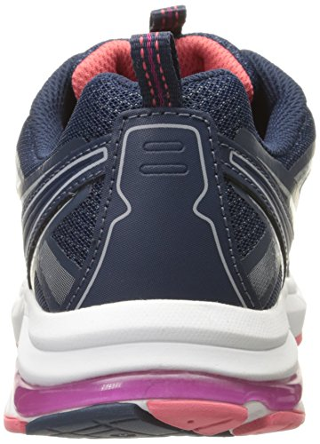 Persue Women's Leather Dr Sneaker Fashion Scholl's Navy qE661vw