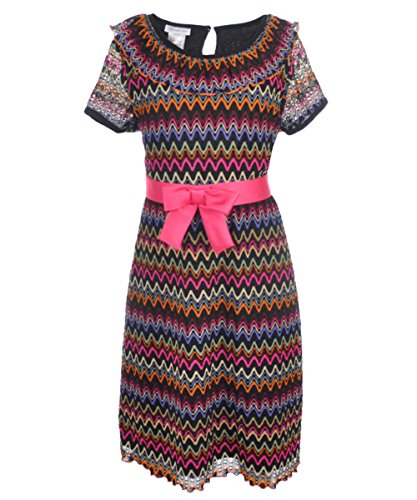 Zig Zag Knit Dress - 5