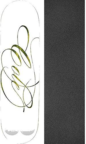 是正戻るペダルプランBスケートボードChris Cole Signature II – スケートボードデッキ8.375 X 32 cmでMob Grip Perforated Griptape – 2アイテムのバンドル