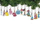 Disney Princess Holiday Ornament Set of 12 Pc