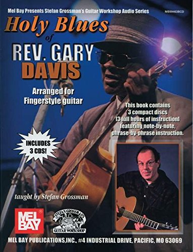 Read Online Holy Blues of Rev. Gary Davis ebook