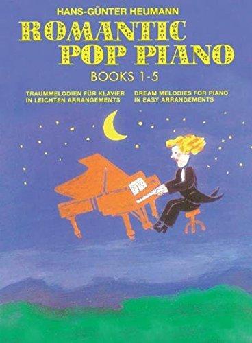 Romantic Pop Piano - Collection Band 1-5 -Für Klavier- (Songbook & CD)