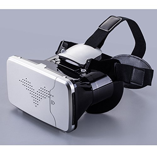 RIEM 3 VIGICA DIY 3d Video Glasses Universal Virtual Reality VR Glasses for 3.5-6inches Smart Phones