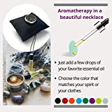 EMF Protection Necklace with Aromatherapy Essential