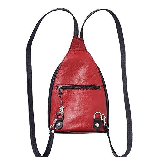 SilberDream, Borsa a zainetto donna rosso rosso/nero