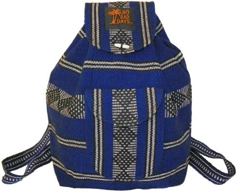 Baja Backpack Ethnic Woven Mexican Bag