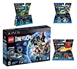 Lego Dimensions Starter Pack + Ninjago Team Pack + Jay Fun Pack + Zane Fun Packs for Playstation 3 PS3 Console