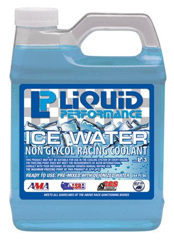 Lp 0699 ice water non glycol racing coolant 64oz by LIQUID PERFORM