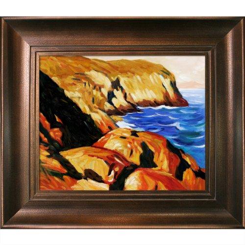 overstockArt Blackhead Oil Painting by Edward Hopper