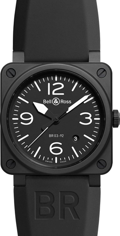 [ベル&ロス]Bell&Ross / 腕時計 / BR03-92 Black Matte / ブラックセラミック / 2014年NEWモデル / メンズ [並行輸入品] B00M2I71Y6