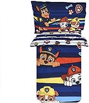 Paw Patrol Peeking Pups, 3-Piece Bedding, Comforter and Sheet Set