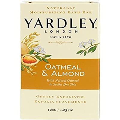 Yardley London Oatmeal and Almond Naturally Moisturizing Bath Bar