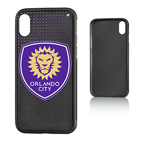 Keyscaper Orlando City Soccer Club Dots iPhone X Bumper Case MLS by Keyscaper
