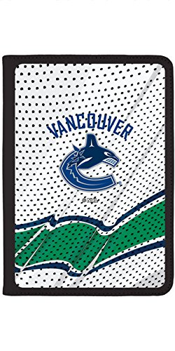 (Vancouver Canucks - Away Jersey Design on Black iPad Air 2 Swivel Stand Case)