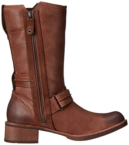 Marron Side Fonc Bottes De Timberland Femme Whittemore Mid Moto 0wq7zA7