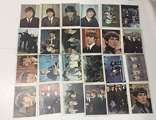 Beatles Color - 1964 TOPPS BEATLES Color series CARD SET, INCOMPLETE, Condition varies
