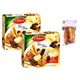 2 x french assorted tea time 250 gr-assortiment tea time DELACRE + 1 bag of madeleines Théodore Bardin-Cuinet