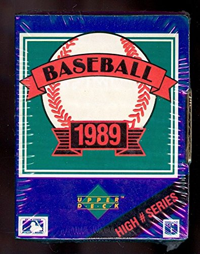 - 1989 Upper Deck Baseball Card Complete Box set High # series Hi FACTORY SEALED