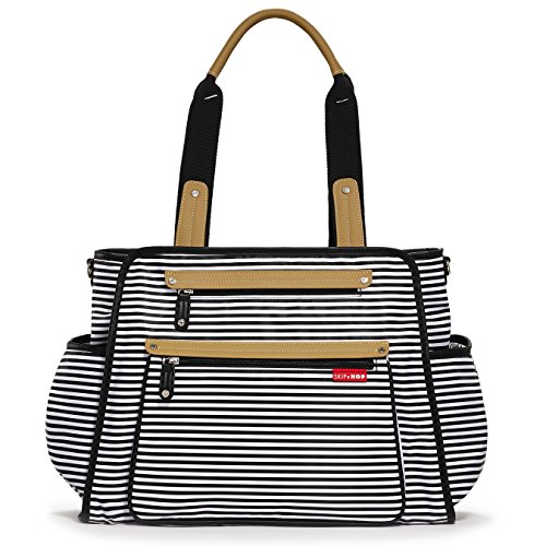 Stripe Baby Diaper Bag - 1