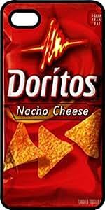 Nacho Cheese Doritos Bag Black Plastic Case for Apple iPhone 4 or iPhone 4s