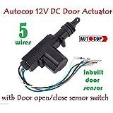auto gear autocop universal car central door lock actuator gun with 5 wire,dc  12v