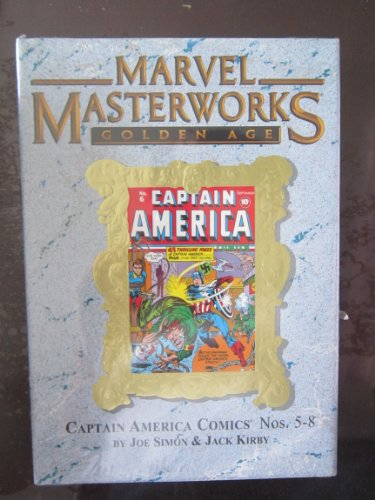 MARVEL MASTERWORKS 99: Golden Age Captain America Vol 2   #5-8