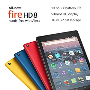 """All-New Fire HD 8 Tablet with Alexa, 8"""" HD Display, 32 GB, Black - with Special Offers-Best-Popular-Product"""