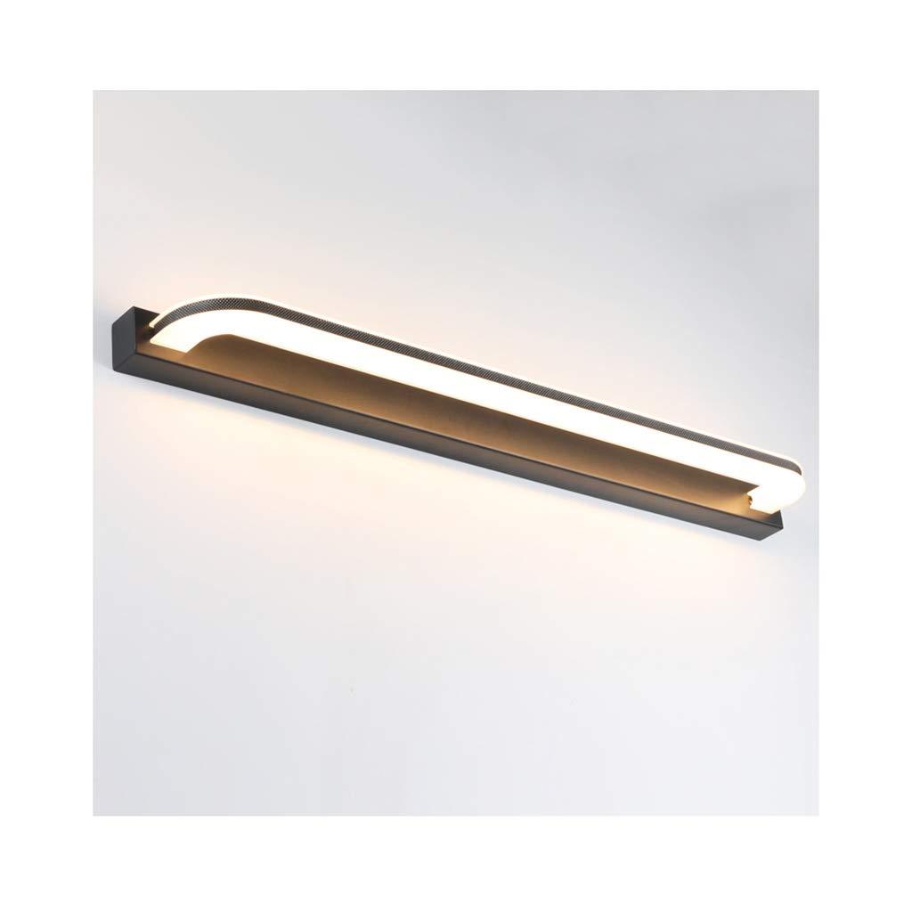 &Spiegelleuchte Badezimmerspiegel Scheinwerfer, LED-Spiegel-Licht Wasserdichtes Nebel-Dressing-Licht (Farbe   Natürliches licht-60cm)