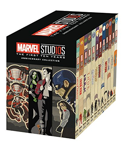 Marvel Studios: The First Ten Years Anniversary Collection by Little, Brown Books for Young Readers