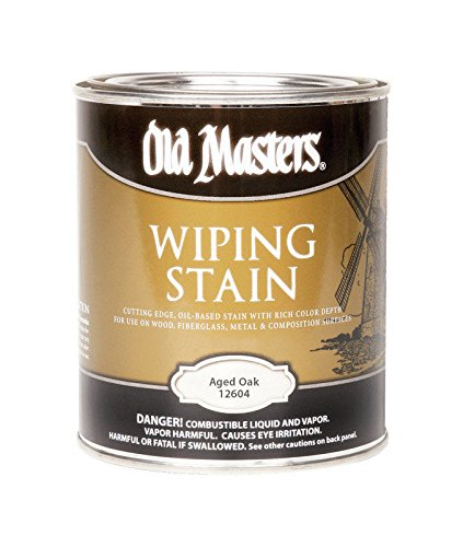 Old Masters 292671 1 qt. Aged Oak Wiping Stain - Pack of 4 - Oak Wiping Stain