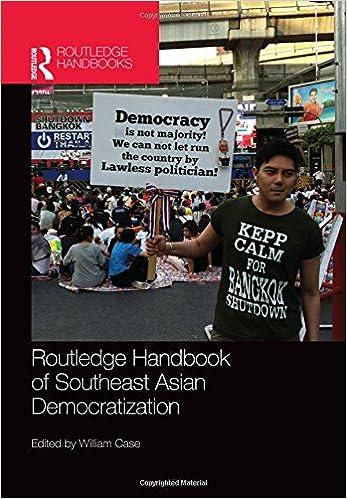 Routledge Handbook of Southeast Asian Democratization